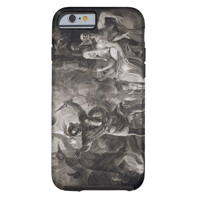 Shakespearean pattern - Macbeth iPhone 11 case