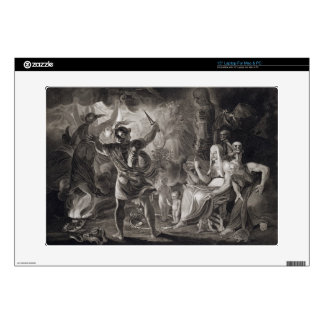 """Macbeth, the Three Witches and Hecate in Act IV, S Decal For 15"""" Laptop"""