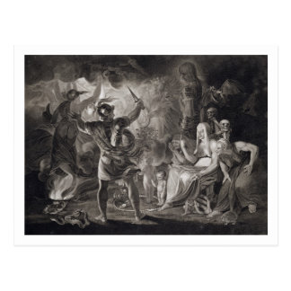 Macbeth, the Three Witches and Hecate in Act IV, S Postcard