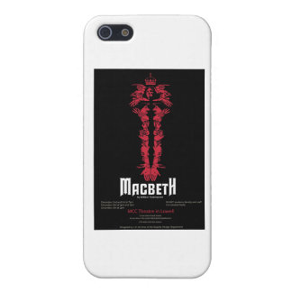 Macbeth (With Information) Cover For iPhone SE/5/5s