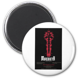 Macbeth (With Information) Magnet