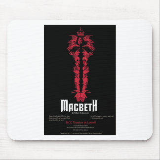 Macbeth (With Information) Mouse Pad