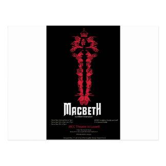 Macbeth (With Information) Postcard