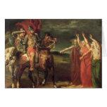 Macbeth y las tres brujas, 1855 felicitación