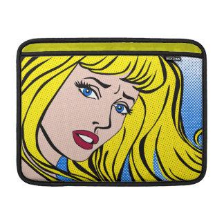 """MacBook Air 13"""" Sleeve - Pop Art Blonde Sleeve For MacBook Air"""