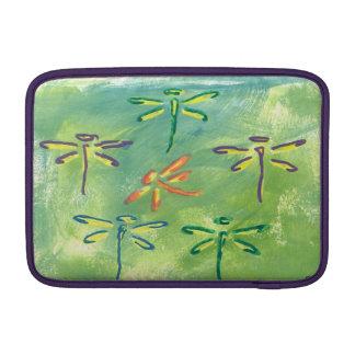 Macbook Air Colorful Dragonflies MacBook Air Sleeve