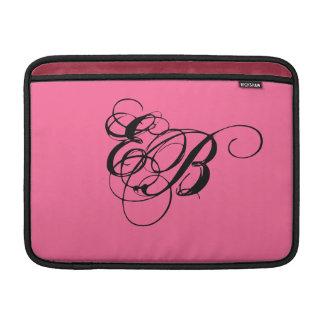 MacBook Air Sleeve / iPad MONOGRAM ~ 13 Inches