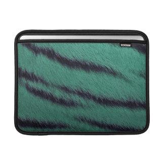 MacBook Air Sleeve - Tiger Fur - Teal