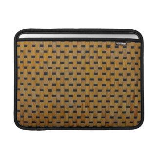 MacBook Air Sleeve - Woods - Blocks on Black