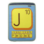 J JENNIFER'S PHONE  MacBook Air sleeves