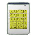 ABCDE FGHIJ KLMNO PQRST VWXYZ  MacBook Air sleeves