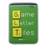 Game Letter Tiles  MacBook Air sleeves