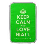 [Crown] keep calm and love niall  MacBook Air sleeves