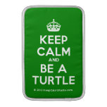 [Crown] keep calm and be a turtle  MacBook Air sleeves