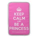[Crown] keep calm and be a princess  MacBook Air sleeves