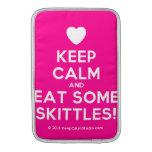 [Love heart] keep calm and eat some skittles!  MacBook Air sleeves