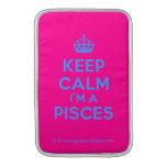 [Crown] keep calm i'm a pisces  MacBook Air sleeves