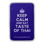 [Crown] keep calm and eat taste of thai  MacBook Air sleeves