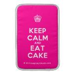 [Cupcake] keep calm and eat cake  MacBook Air sleeves