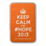 [Crown] keep calm and #hope 2013  MacBook Air sleeves