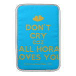 [Two hearts] don't cry coz niall horan loves you  MacBook Air sleeves
