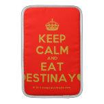 [Crown] keep calm and eat destinay♥  MacBook Air sleeves