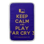 [Computer] keep calm and play far cry 3  MacBook Air sleeves