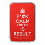 [Crown] f*#k calm today is result  MacBook Air sleeves