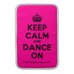 [Crown] keep calm and dance on  MacBook Air sleeves