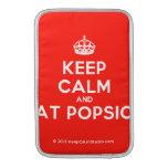[Crown] keep calm and eat popsick  MacBook Air sleeves