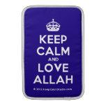 [Crown] keep calm and love allah  MacBook Air sleeves