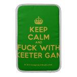 [Crown] keep calm and fuck with skeeter gang  MacBook Air sleeves