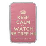 [Crown] keep calm and watch one tree hill  MacBook Air sleeves