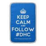 [Crown] keep calm and follow #dhc  MacBook Air sleeves