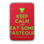 [Chef hat] keep calm and eat some pasteque  MacBook Air sleeves