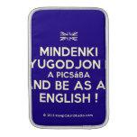 [UK Flag] mindenki nyugodjon le a picsába and be as an english !  MacBook Air sleeves