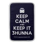 [Campervan] keep calm and keep it 3hunna  MacBook Air sleeves