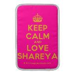 [Crown] keep calm and love shareya  MacBook Air sleeves