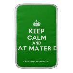 [Crown] keep calm and beat mater dei  MacBook Air sleeves