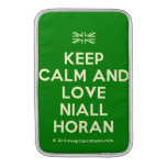 [UK Flag] keep calm and love niall horan  MacBook Air sleeves