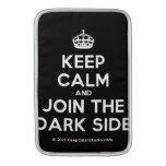 [Crown] keep calm and join the dark side  MacBook Air sleeves
