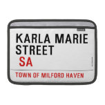 Karla marie STREET   MacBook Air Sleeves (landscape)