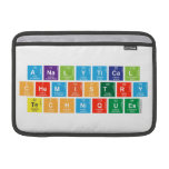 Analytical Chemistry Techniques  MacBook Air Sleeves (landscape)