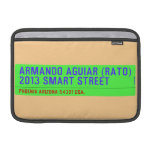 armando aguiar (Rato)  2013 smart street  MacBook Air Sleeves (landscape)