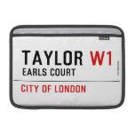 Taylor  MacBook Air Sleeves (landscape)