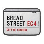 Bread Street  MacBook Air Sleeves (landscape)