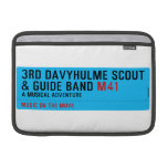 3rd Davyhulme Scout & Guide Band  MacBook Air Sleeves (landscape)