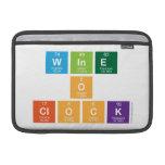 Wine o clock  MacBook Air Sleeves (landscape)