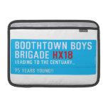 boothtown boys  brigade  MacBook Air Sleeves (landscape)