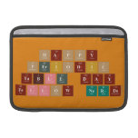 Happy  Periodic  Table Day Fellow Nerds  MacBook Air Sleeves (landscape)